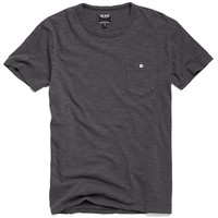 Classic Button Pocket T-Shirt in Charcoal