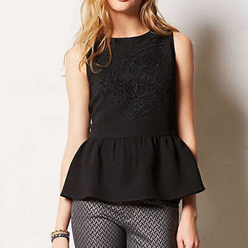Regis Crocheted Peplum