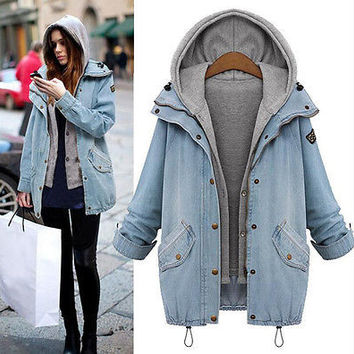Best Denim Trench Coat Products on Wanelo