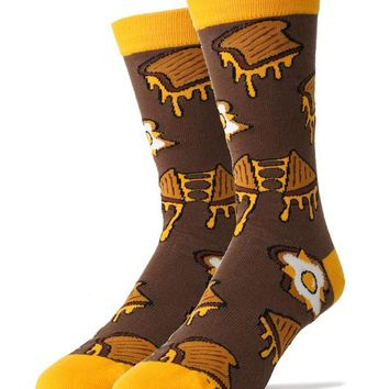 Grilled Cheez - Crew Socks