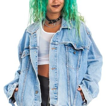 HAND-PICKED 4 U: Denim Trucker Jacket