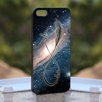 Nabula LOve Infinity - Design available for iPhone 4 / 4S and iPhone 5 Case - black, white and clear cases