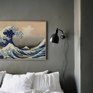 Mountain canvas Japanese ukiyoe home decoration painting classic art home decor vintage poster zen NO Frame