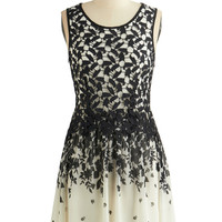 ModCloth Short Length Sleeveless A-line Terrace Regalement Dress