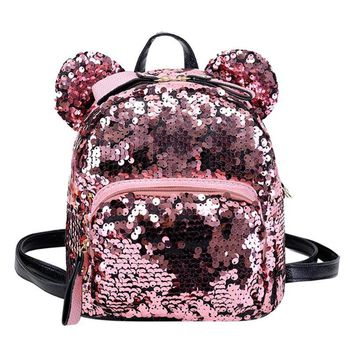 The Mouse Sequin Mini Backpack - shopdevi