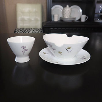 "Midcentury Rosenthal Germany Form 2000 ""Blutenspiel"" by RAYMOND LOEWY 