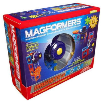 Magformers Magnets in Motion 22 Pc Magnetic Construction Power Grea Set