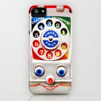 Retro Vintage kids Toys Dial Phone apple iPhone 3, 4 4s, 5 5s 5c, iPod & samsung galaxy s4 case cover