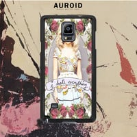 Marina And The Diamond Hate Everything Samsung Galaxy Note 4 Case Auroid