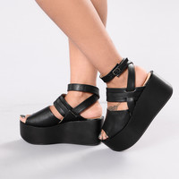 One Of A Kind Sandal - Black