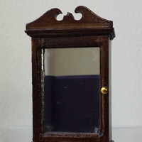 "Dollhouse Miniature 1"" Scale Bathroom Mirror (JL)"