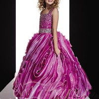 Tiffany Princess 13360 | Little Girl's Pageant Dress | Little Girl's Party Dress | GownGarden.com