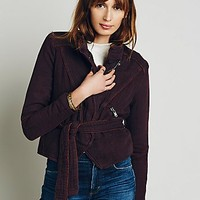 Free People Womens Doublecloth Twill Jacket
