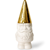 Golden Hat Gnome Container