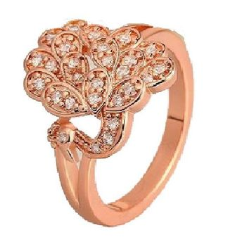 Real Gold Plated Ring  For Women