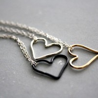 My Open Heart (Bright Sterling Silver) necklace