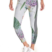 TRAINING FLORAL COLLEGE LEGGINGS by Adidas