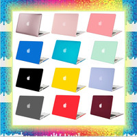 Mosiso for Macbook Air 13 13.3 Plastic Hard Case Cover A 1369 A1466  For Macbook Air 11 Model A1465  A1370 Repacement Case