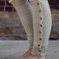 Mistletoe Leg Warmers