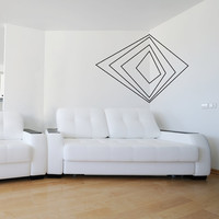 Corner 3D Art - 24in - Vinyl Wall Art Decal Sticker