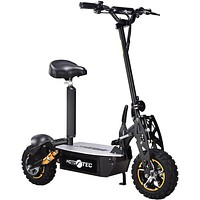 2000w 48v Electric Scooter Black