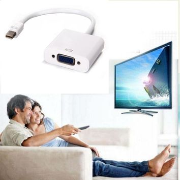6FT 22cm High Quality Thunderbolt Mini DisplayPort Display Port DP to HDMI Adapter Cable For Apple Mac Macbook Pro Air