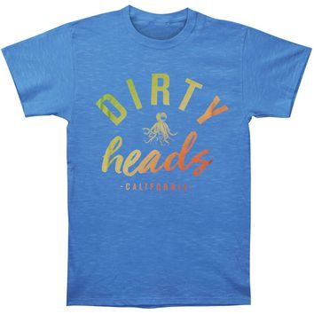 Dirty Heads Men's  Flight Slim Fit T-shirt Royal Heather