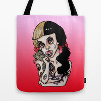 Pacify Her-Melanie Martinez Tote Bag by Julio César