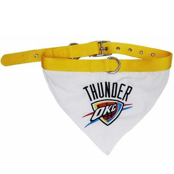 Oklahoma City Thunder Bandana Collar Medium