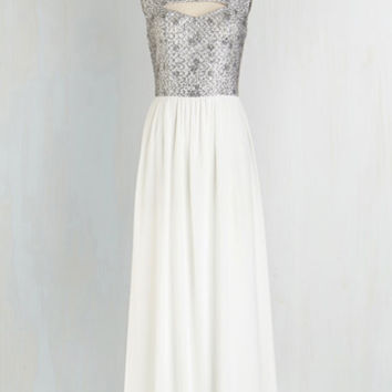 Long Sleeveless Maxi Dreamy Debut Dress by ModCloth