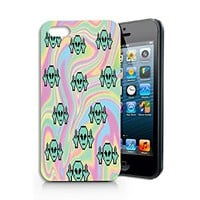Alien Tie Dye Plastic Phone Case for iphone 5 5s _ SUPERTRAMPshop
