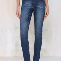 Cheap Monday Tight Skinny Jeans - Dark Wash