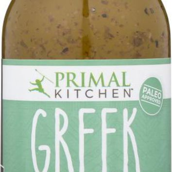 PRIMAL KITCHEN: Dressing Greek Vinaigrette, 8 oz