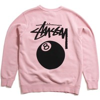 8 Ball Pigment Dyed Crewneck Sweatshirt Blush
