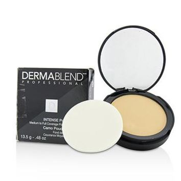 Dermablend Intense Powder Camo Compact Foundation (Medium Buildable to High Coverage) - # Ivory (Box Slightly Damaged) Make Up