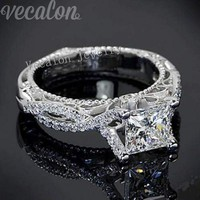 Sterling Silver Engagement ring for women