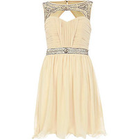 Cream Little Mistress sweetheart dress