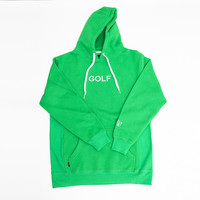 GOLF EMBROIDERED HOODIE KELLY GREEN – golfwang
