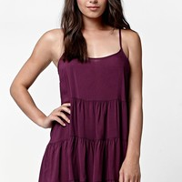 LA Hearts Tiered Babydoll Dress - Womens Dress