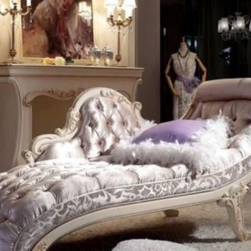 French louis xv style chaise lounge top from - French interior design companies ...