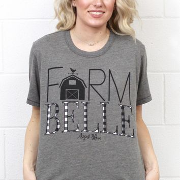Farm Belle Graphic Tee {Grey}