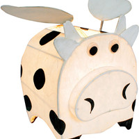 Cosmo The Cow Lamp - Night-Time Buddy - Childrens Lamps