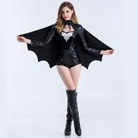Women's Fashion Bat Sexy Evening Party Prom Dress Costume Apparel [9220886724]