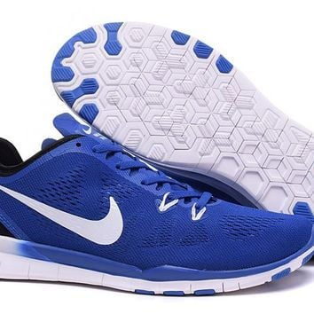 Nike Free TR FIT 5 Brthe Women's Training Shoes Clearwater Sapphire Blue/Black