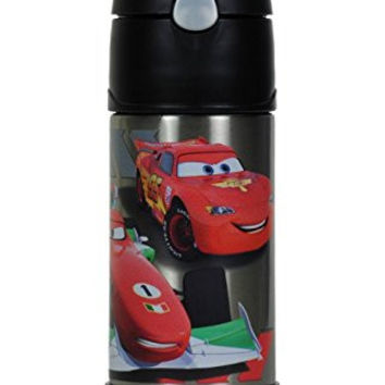 Thermos 12oz Disney Pixar Cars Funtainer Bottle with Silicone Pop-up Straw