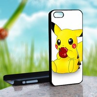 Pokemon Arceus Cute Pikachu - Photo On Hard Cover For iPhone 4,4S