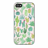 cactus pattern case for iphone 5 5s