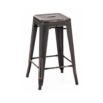 Dreux Stackable Counter Stool 26 Inch (Set of 4)
