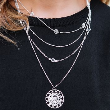 Never Ending Necklace: Silver