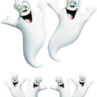 Party Inflatable Ghosts - 2 pack